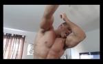 Muscle Flexing Hunk Worship Sweat Alpha Video Armpit Fetish Oil Domination Masturbation Bodybuilder Gay Video Feet Growing