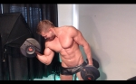 Muscle Flexing Hunk Worship Sweat Alpha Video Armpit Fetish Oil Domination Masturbation Bodybuilder Gay Video Feet Growing