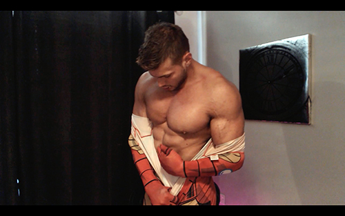 Uniform Ripped Shredded Hunk Pecs Sweat Alpha Bum Armpit Fetish Oil Domination Masturbation Bodybuilder Gay Video