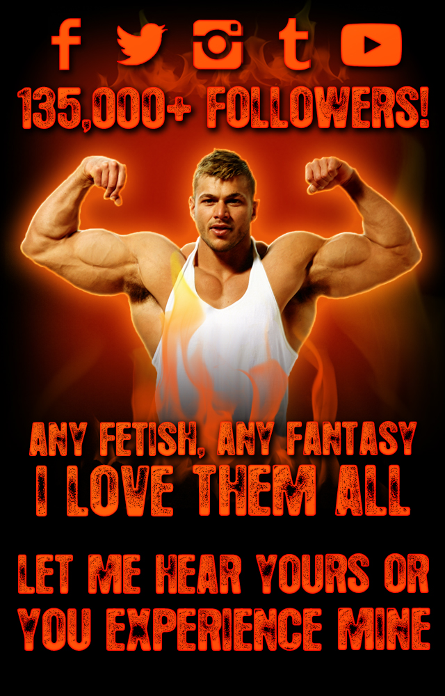 Custom Video XXX Fantasy Muscle Muscular Hunk RolePlay British