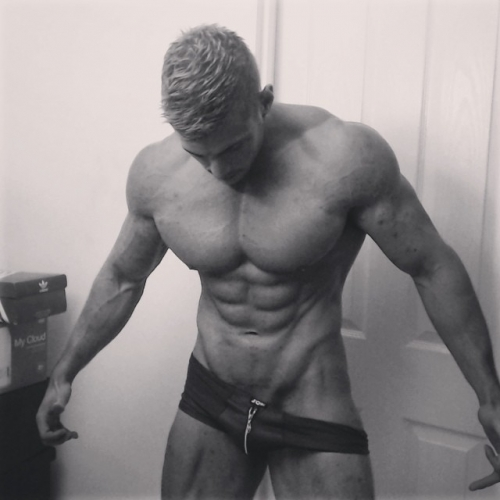 Armpit Fetish Oil Domination Muscle Flexing Hunk Worship Sweat RolePlay Uniform Cock Tease Masturbation Alpha Video