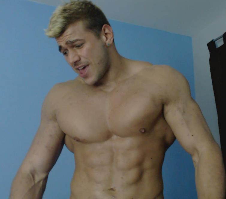 Muscle gay small cock images