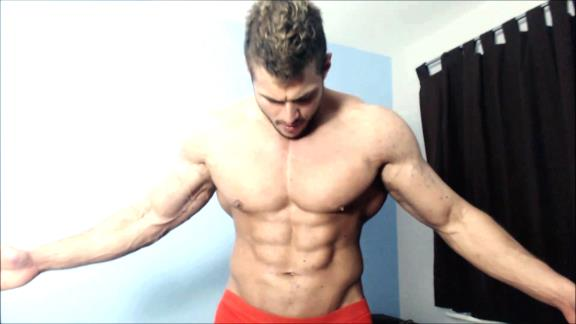 Muscle Flexing Hunk Worship Sweat RolePlay Uniform Cock Tease Masturbation Alpha Video Armpit Fetish Oil Domination Muscle Flexing Hunk Worship Sweat RolePlay Uniform Cock Tease Masturbation