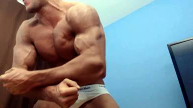 Biceps Hot Flexing Hunk Pecs Sweat Alpha Bum Armpit Fetish Oil Domination Masturbation Bodybuilder Gay Verbal