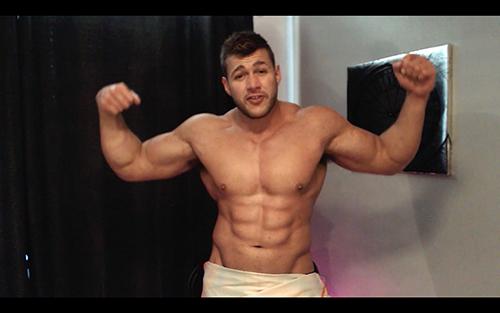 Uniform Ripped Shredded Hunk Pecs Sweat Alpha Bum Armpit Fetish Oil Domination Masturbation Bodybuilder Gay Video