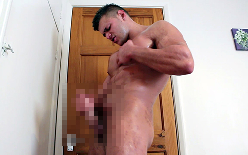Muscle Ripped Shredded Hunk Pecs Wank Vest Tshirt Armpit Fetish Oil Domination Masturbation Bodybuilder Gay Video