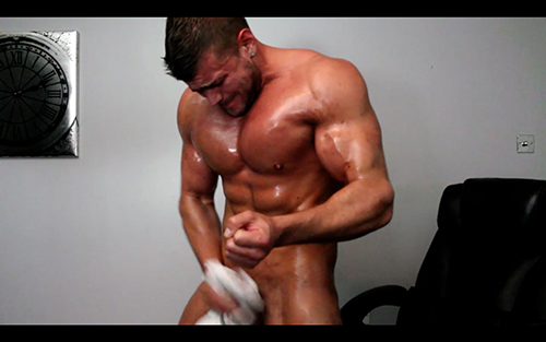 Muscle Ripped Shredded Hunk Pecs Stink Fart Vore Armpit Fetish Oil Domination Masturbation Bodybuilder Gay Video