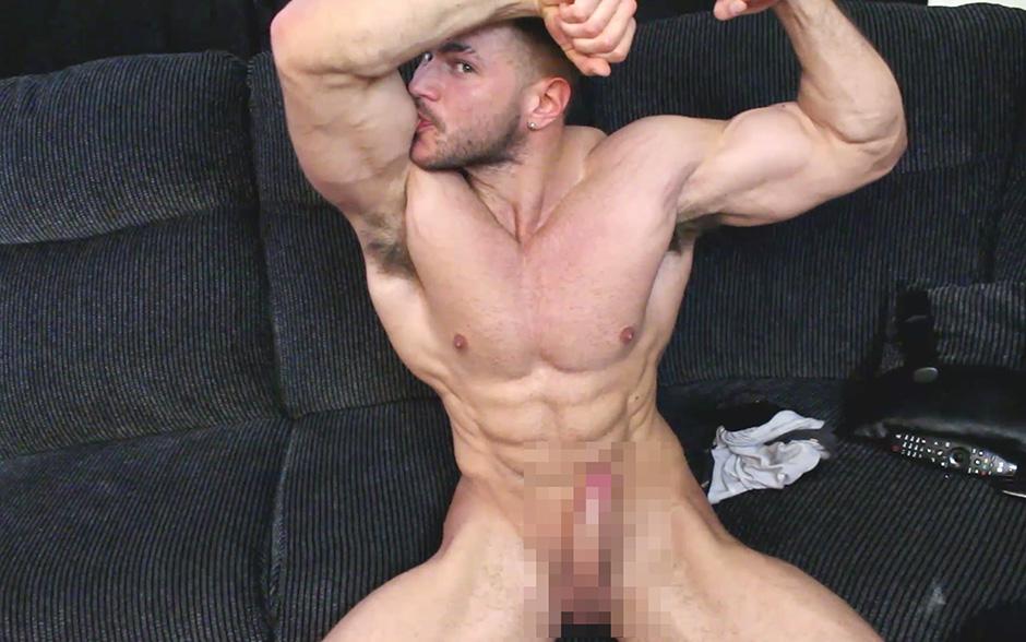 Muscle cum huge